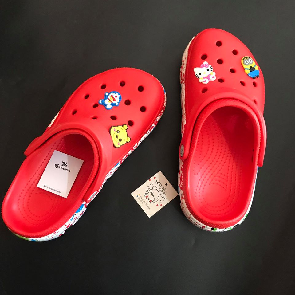 dep crocs do de phoi