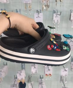 crocs band den soc trang